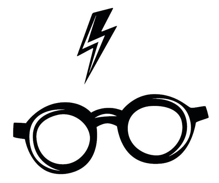 harry potter and the glasses and lightning bolt trademark application glasses and lightning bolt trademark