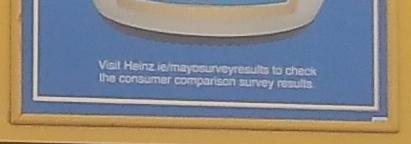Hellmann's Heinz Mayonaise - Consumer Survey